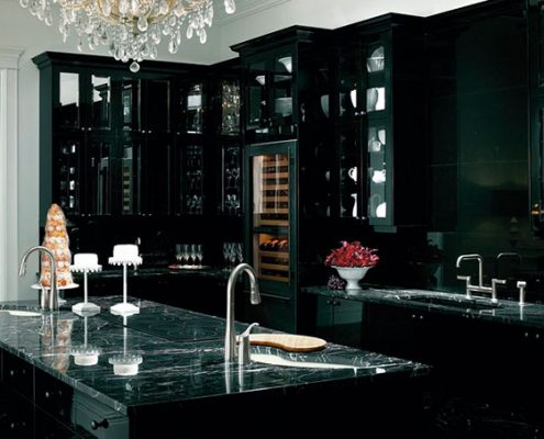 чёрная-кухня-классика