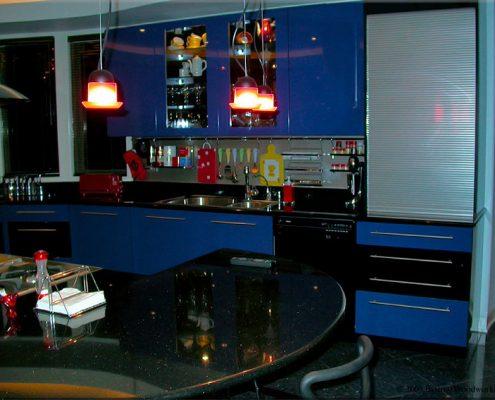 сине-чёрная-кухня
