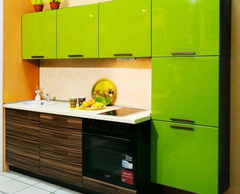 кухня-зелёный-верх
