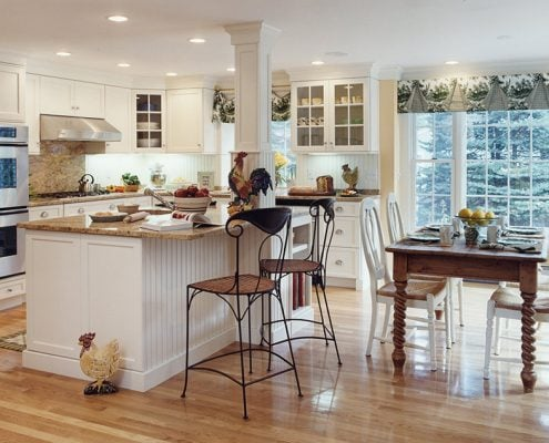 столовая-в-кухне