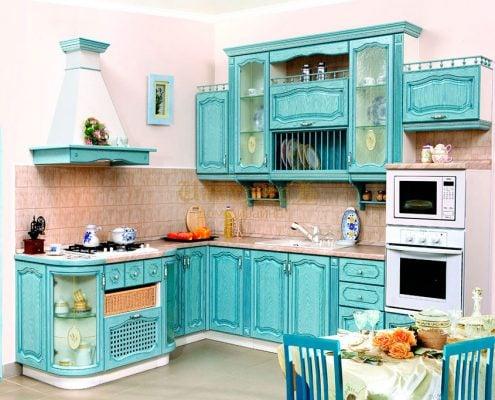 голубая-кухня-в-стиле-прованс