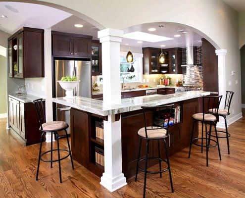 кухня-студия-зона-столовой