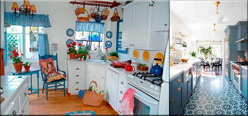 голубая-кухня-с-декором