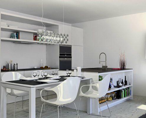 кухня-студия-в-светлых-тонах