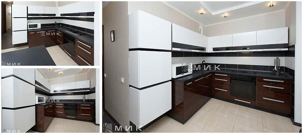 бело-коричневая-кухня-хай-тек