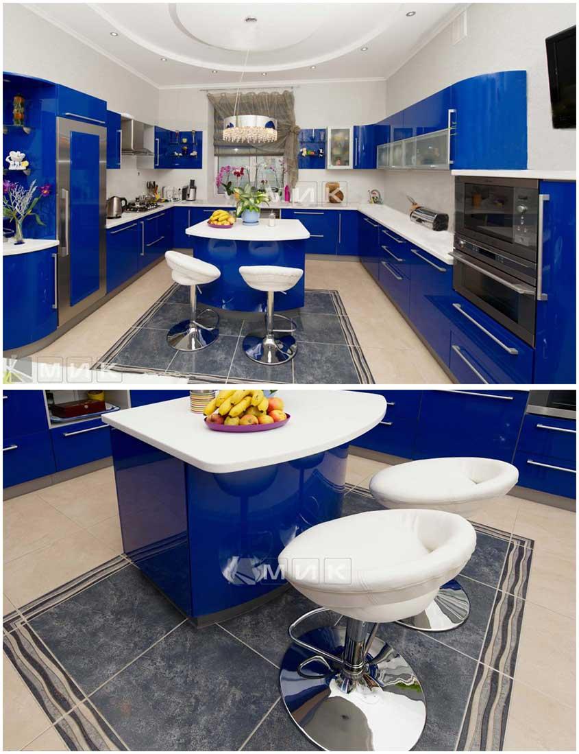 сине-белая-кухня