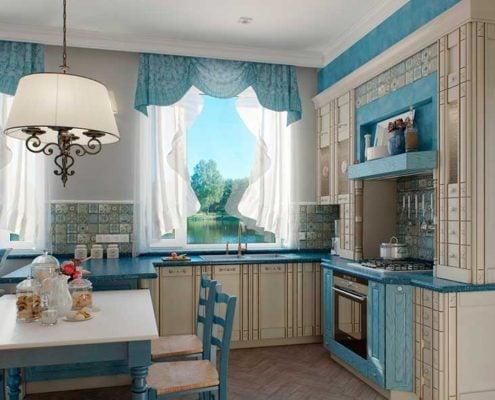 голубые-шторы-на-кухне