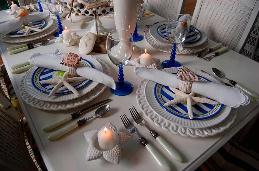 сервировка-стола-в-морском-стиле