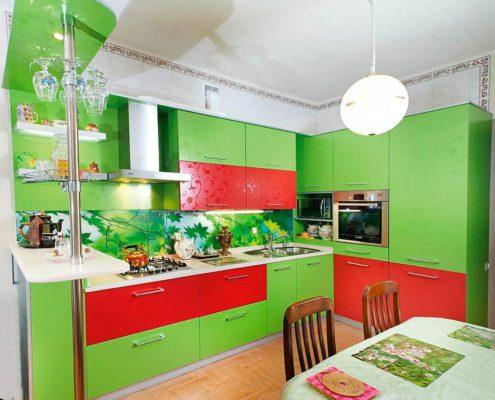 красно-зелёная-кухня