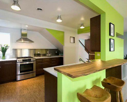 покраска-стен-кухни-в-эко-стиле