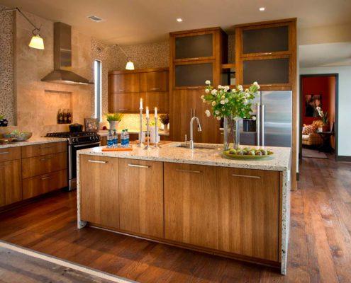 кухня-с-цветами-в-эко-стиле