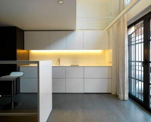 минимализм-в-интерьере-кухни