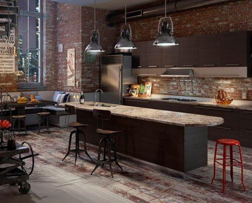 кухня-лофт-декор