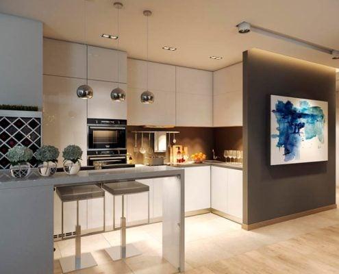 кухня-минимализм-модерн