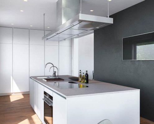 тёмно-серая-стена-на-кухне