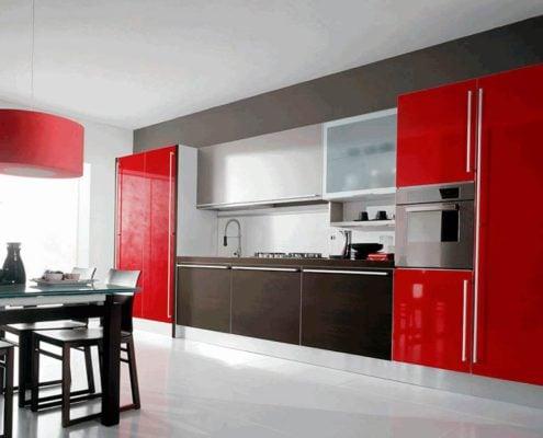 красно-чёрная-кухня