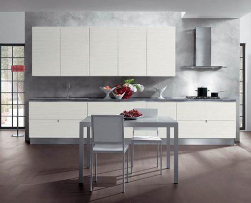 бело-серая-кухня
