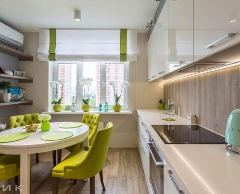 Белая-кухня-модерн-с-(Led)-лед-подсветкой-1002