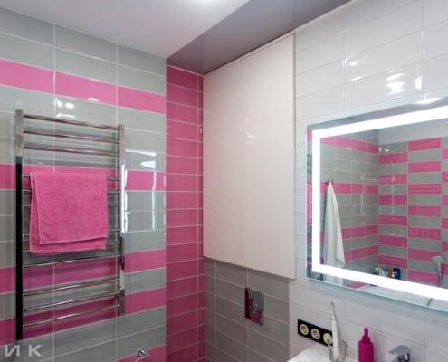 встроенный шкаф в розовую-ванную-комнату--1005
