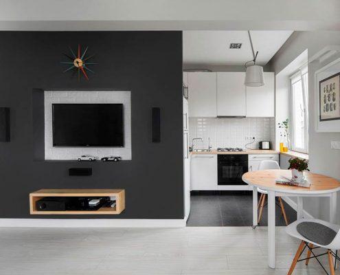маленькая-кухня-студия-фото