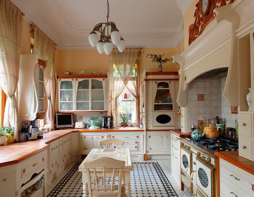 дизайн кухни в частном доме советы по обустройству