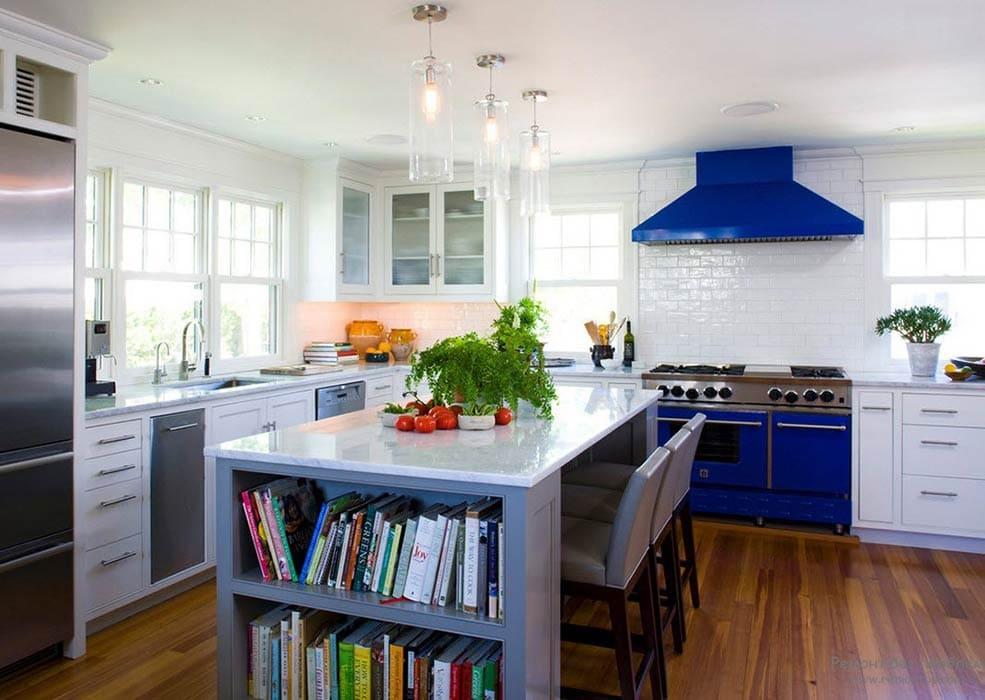 синяя-техника-на-кухне