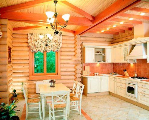 кухня-в-доме-со-сруба