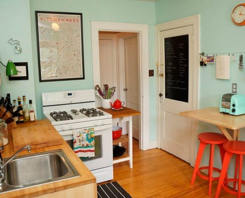 интерьер-маленькой-кухни