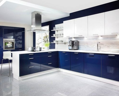 синяя-кухня-модерн