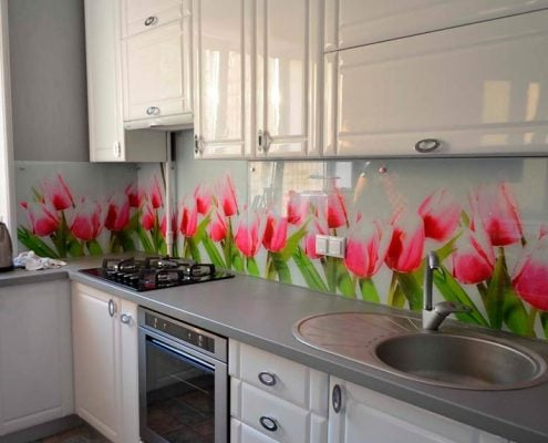 розово-серая-кухня