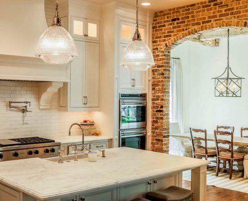 арка-на-кухне-в-частном-доме