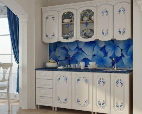 синий-фартук-на-белой-кухне