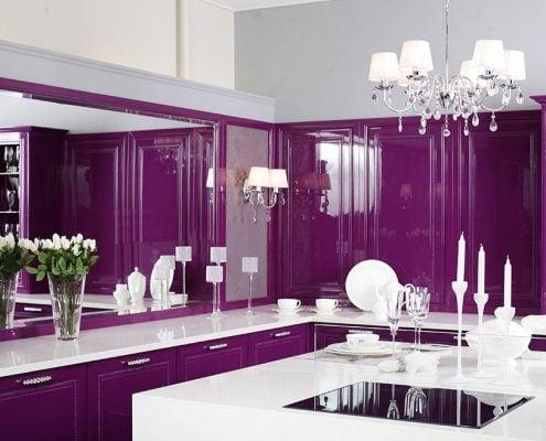 фиолетовая-кухня-глянец
