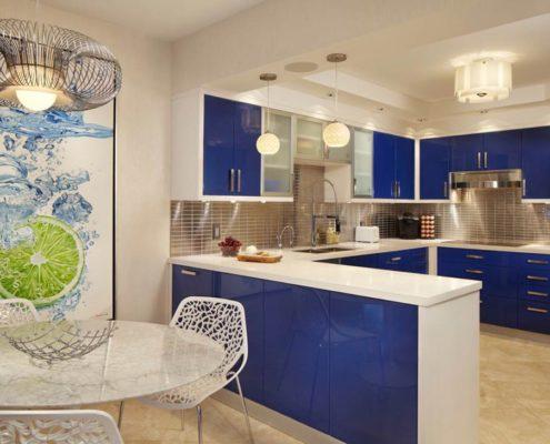 синяя-кухня-фото