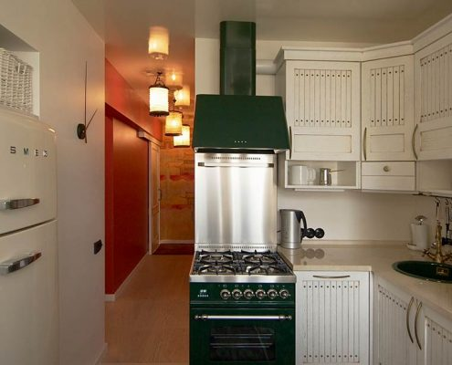 маленькие-кухни-лофт-в-интерьере