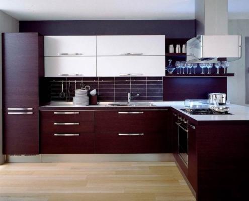коричневая-кухня-венге