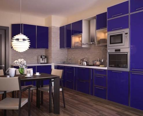 синяя-кухня-в-интерьере