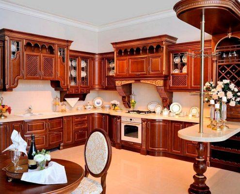 барная-стойка-кухня-классика