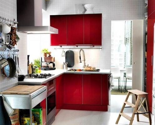 маленькая-красная-кухня