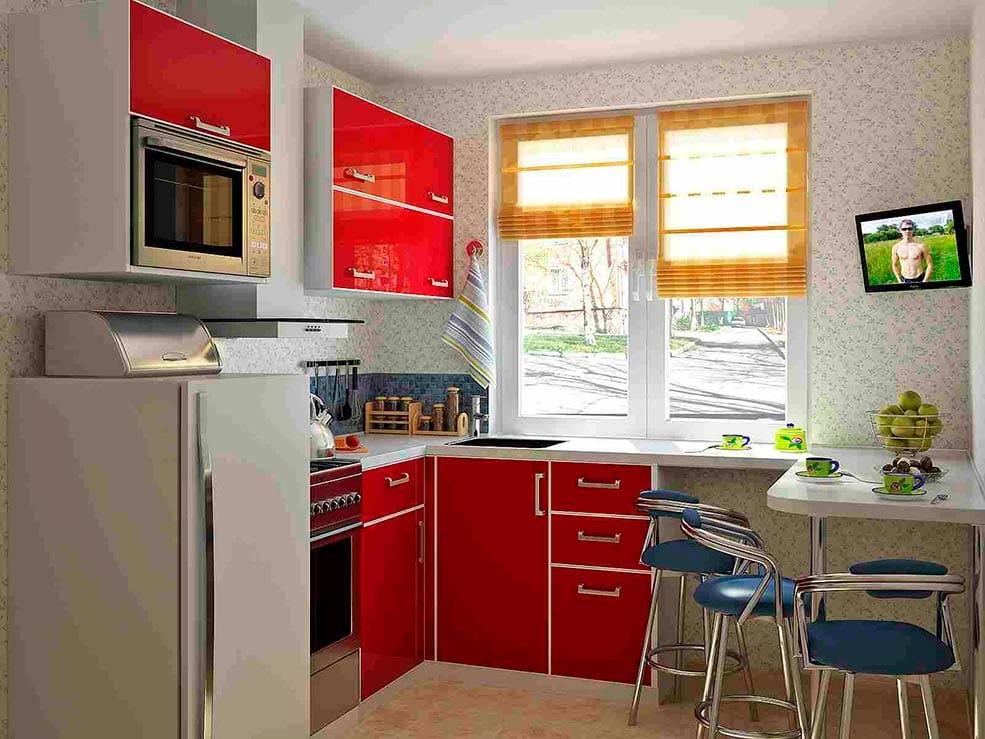 кухня 9 кв м особливості планування рекомендації фото