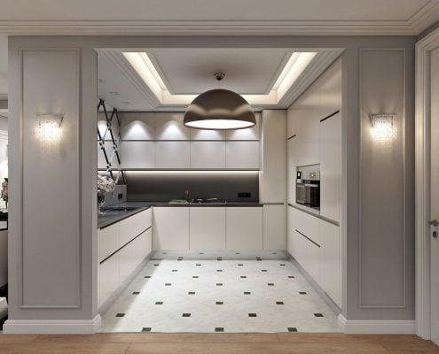 дизайн-п-образной-кухни