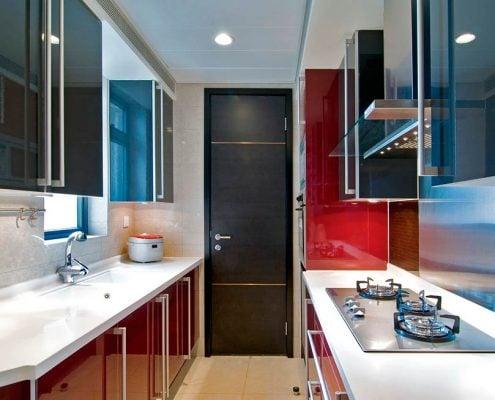 дизайн-узкой-кухни-фото