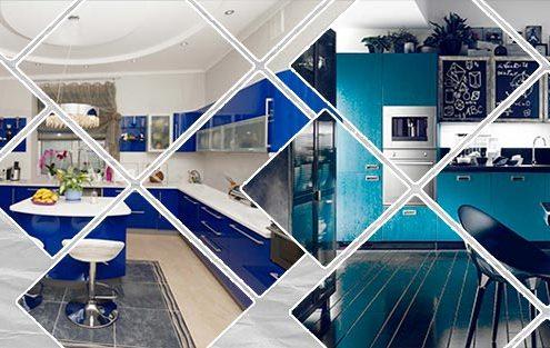 кухни-в-синем-цвете