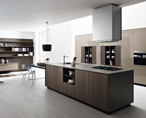 кухонный-гарнитур-модерн-в-квартире-студии