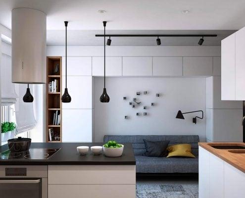 кухонный-гарнитур-в-стиле-минимализм