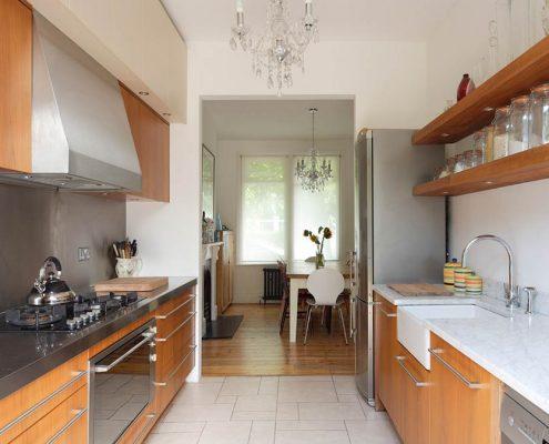 линейная-узкая-кухня