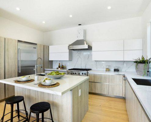 п-образная-кухня-в-частном-дом