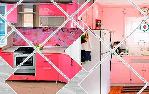 розовые-кухни-в-интерьере