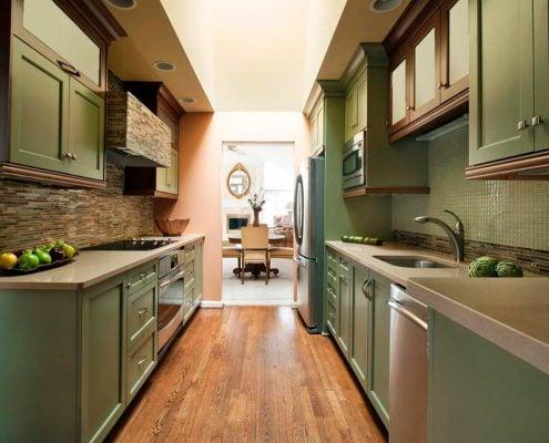 стильная-узкая-кухня