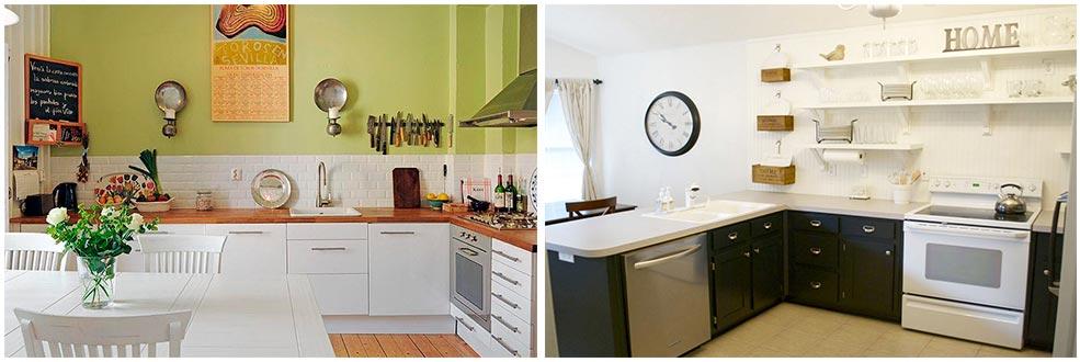Угловая-кухня-без-верхних-шкафов